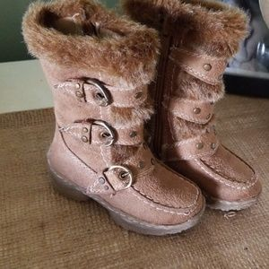 Lucky Top Shoes - Lucky Top Toddler Fall Boots size 4